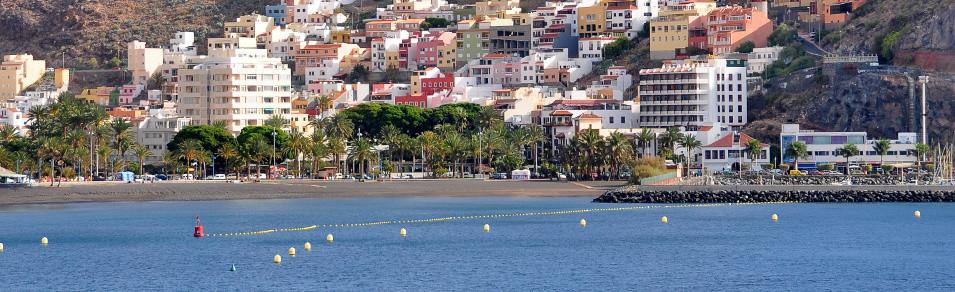 Ab 30€ pro Tag Mietwagen San Sebastian / Gomera