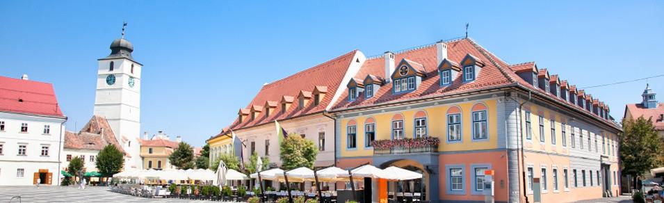 Alquiler de coches Aeropuerto Internacional Sibiu